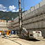 Jet Grouting for residential building in Les Escales, Andorra La Vella